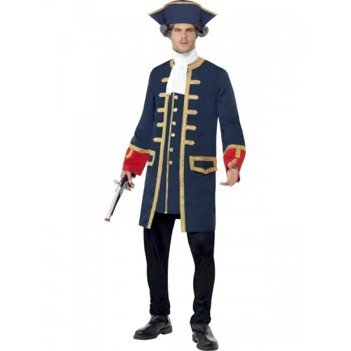 Déguisement commandant pirate