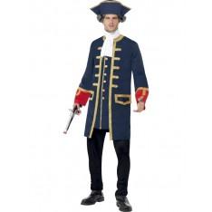 Déguisement commandant pirate