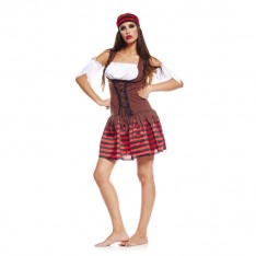 Déguisement pirate adulte femme