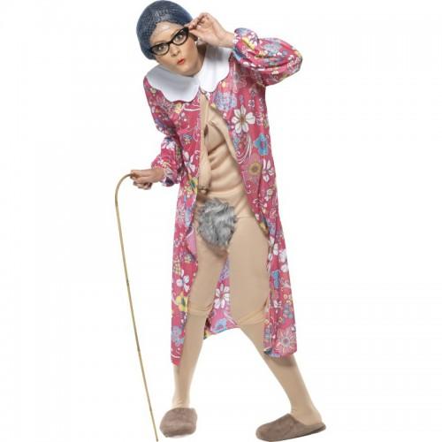 Costume vieille femme exhibitionniste