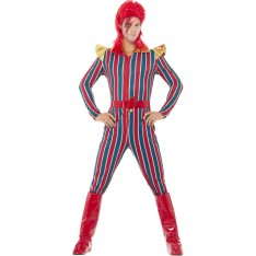 Costume multicolore rockstar