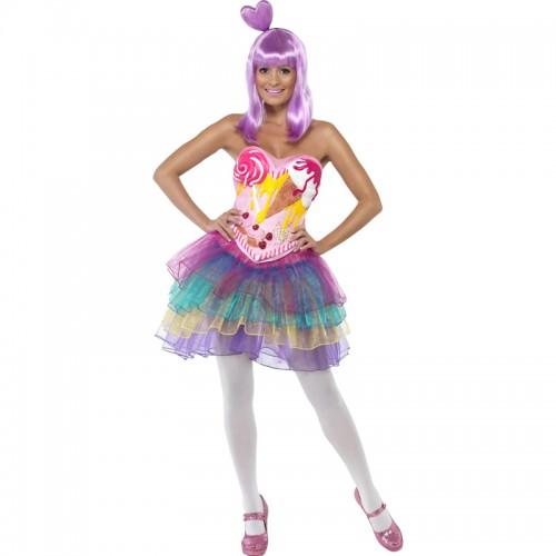 Costume reine des bonbons
