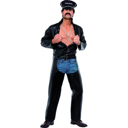 Déguisement Motard Village People Officiel