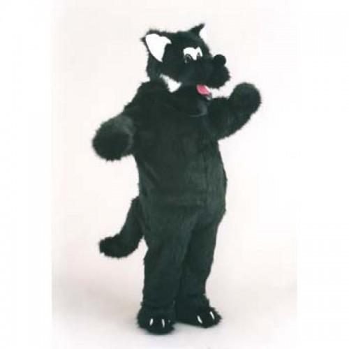 Mascotte loup