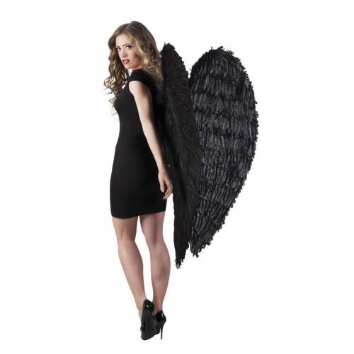 Ailes d'ange plumes noires