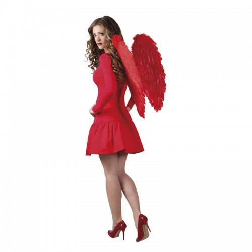 Ailes ange plumes rouges