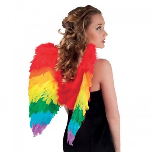 Ailes de perroquet multicolores