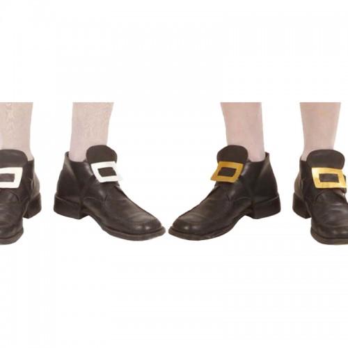 Boucles de chaussure or ou argent