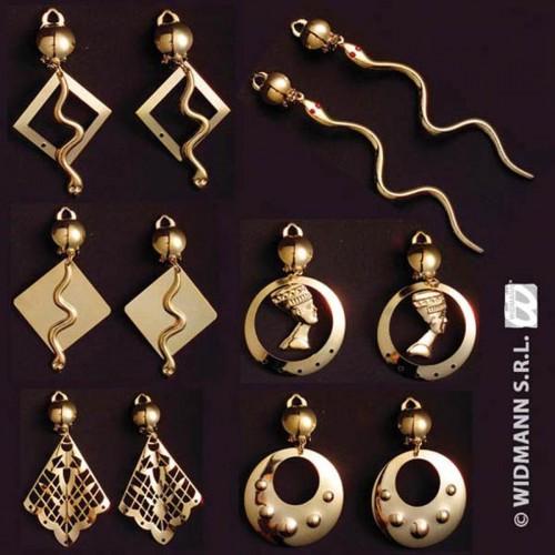 Boucles d'oreilles egyptiennes