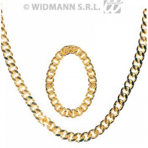 Set bijoux gangster/rappeur