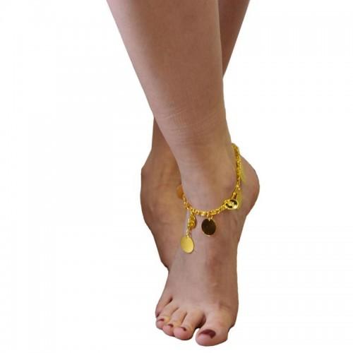 Bracelet de chevilles oriental