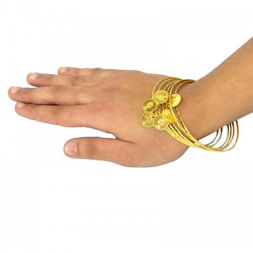 lot de 6 bracelet métal orientaux