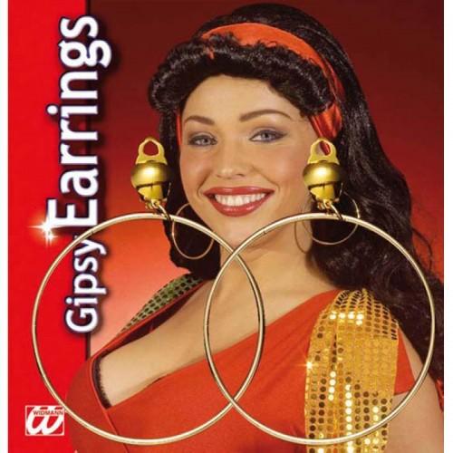 Boucles d'oreilles créoles à clip