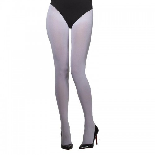 Collants opaques blancs