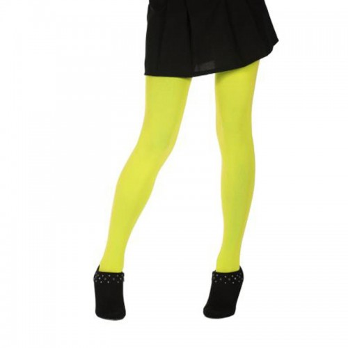 Collants jaune fluo 60 deniers